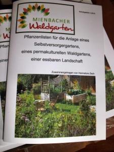 Pflanzenlistenhefte